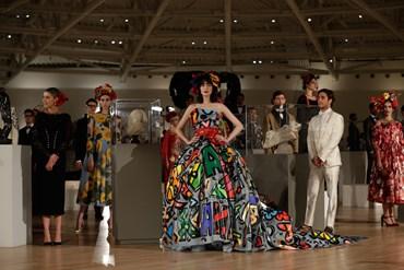 Un immagine della sfilata di Dolce Gabbana alta moda a Città del Messico 35375e7bbc