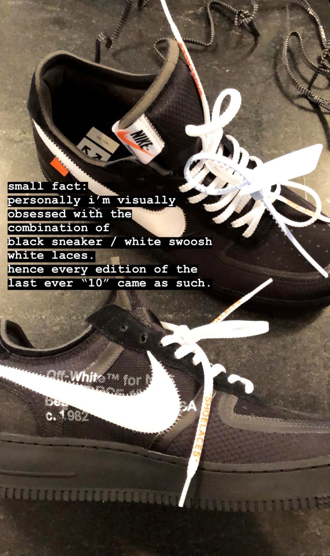 Off White x Air Force 1: a breve le versioni kids Michele