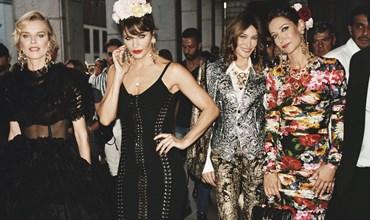 Dolce Gabbana scatta la campagna tra le strade di . d2557da51f1