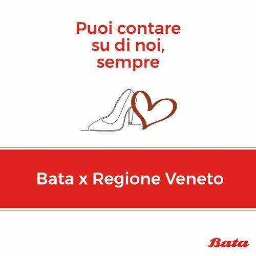 Covid 19, Bata devolve 200 mila euro al Veneto