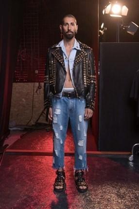 Fausto Puglisi debutta a Milano moda uomo
